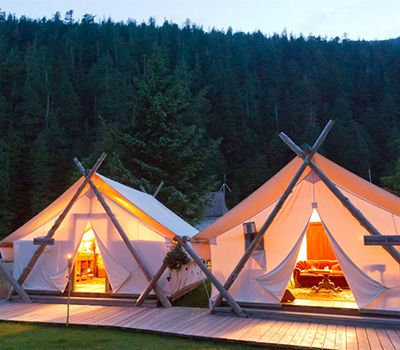 Coolest places to go gl&ing in Canada & Coolest places to go glamping in Canada | Wilderness