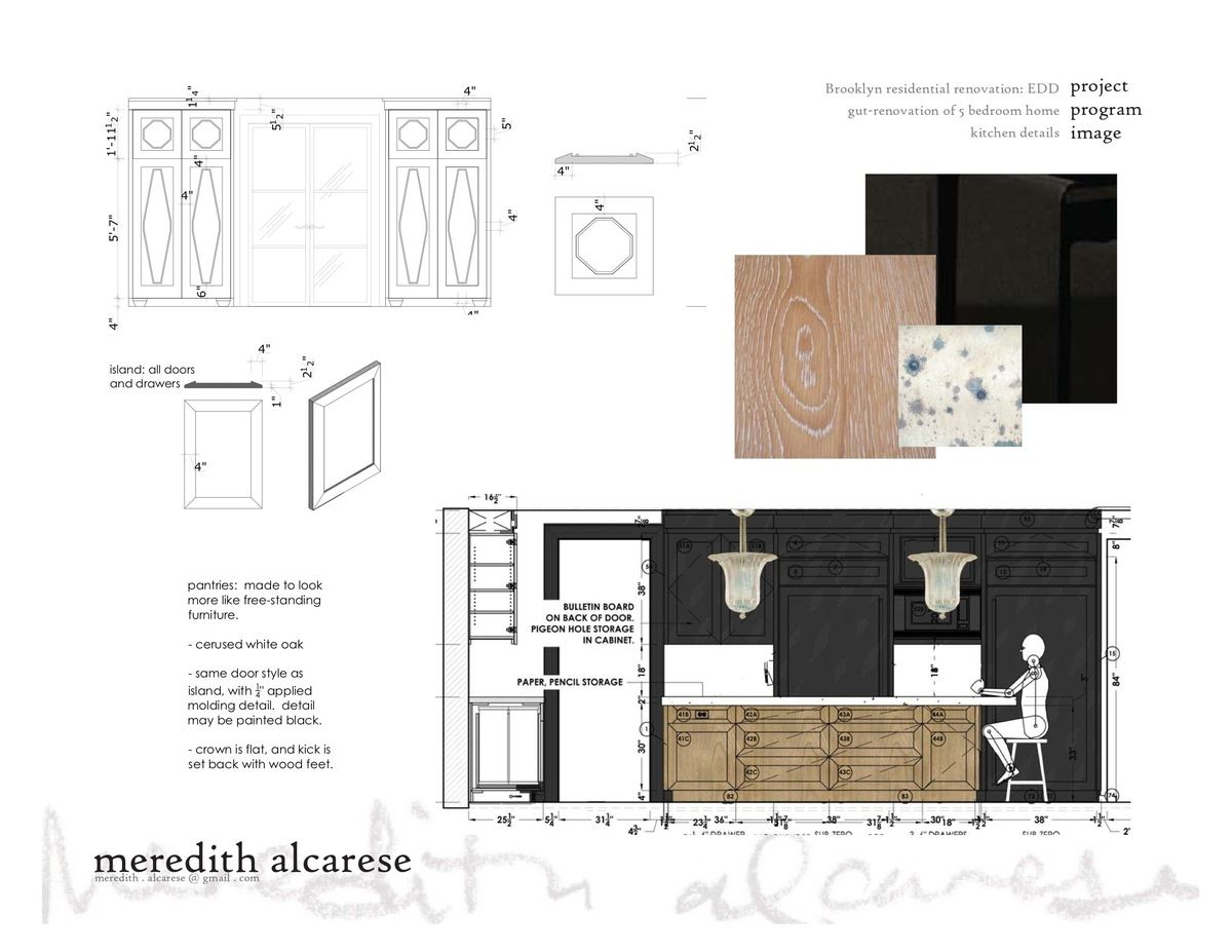 Superieur Drawings   Details And Furniture Specs | Meredith Alcarese | Archinect