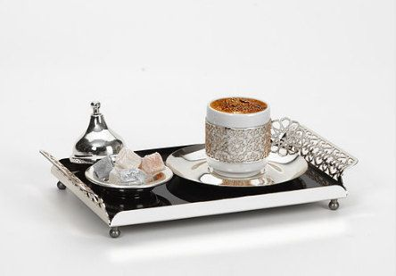 Turkish Coffee Set For 1 Tea Gift Her Him Anniversary Lover Birthday Cup