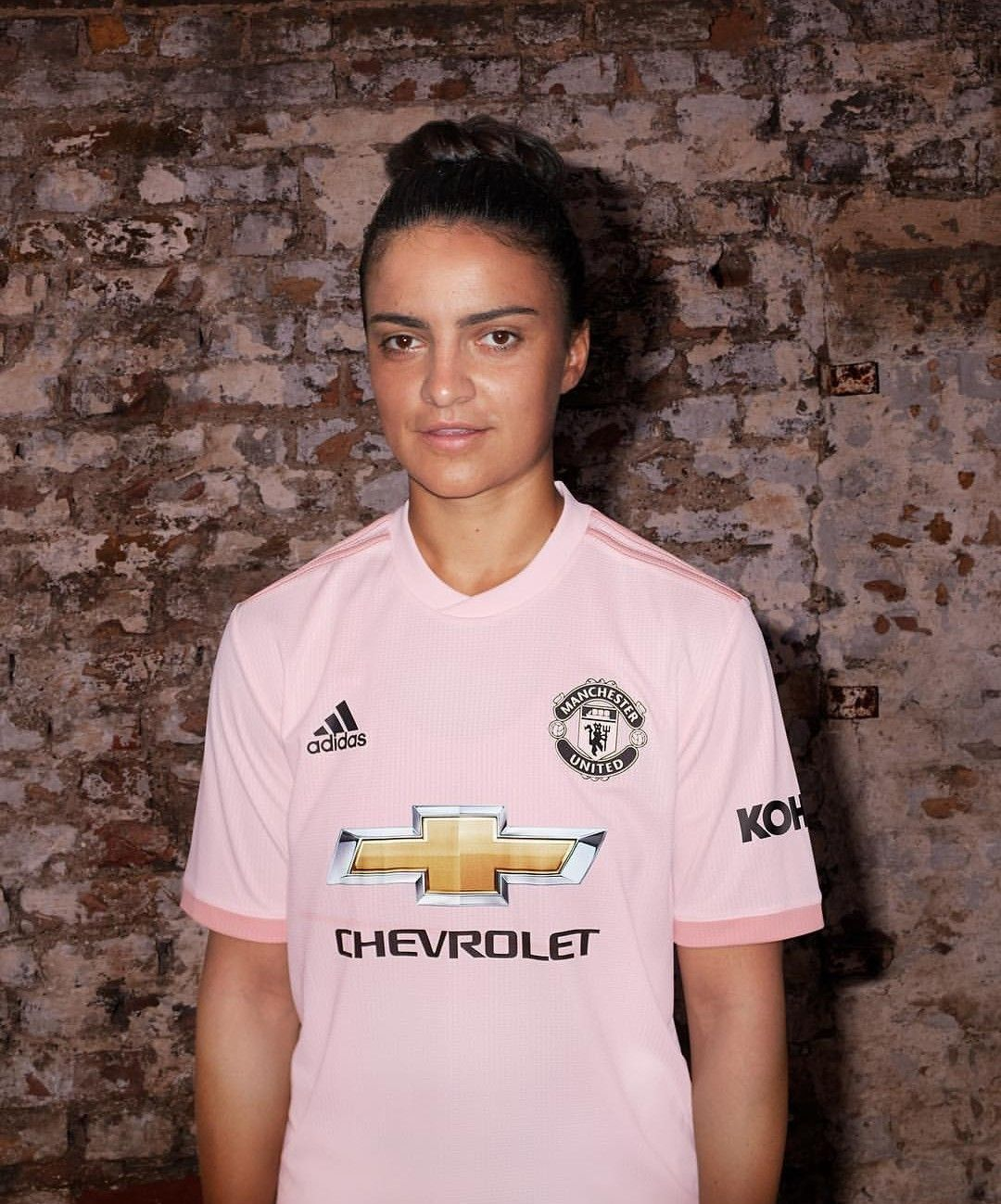 newest 57f61 65fa8 😜📸 Pink Kit! #MUWomen #ManUtd 🖤🖤🖤 | ♛MAN UNITED ...