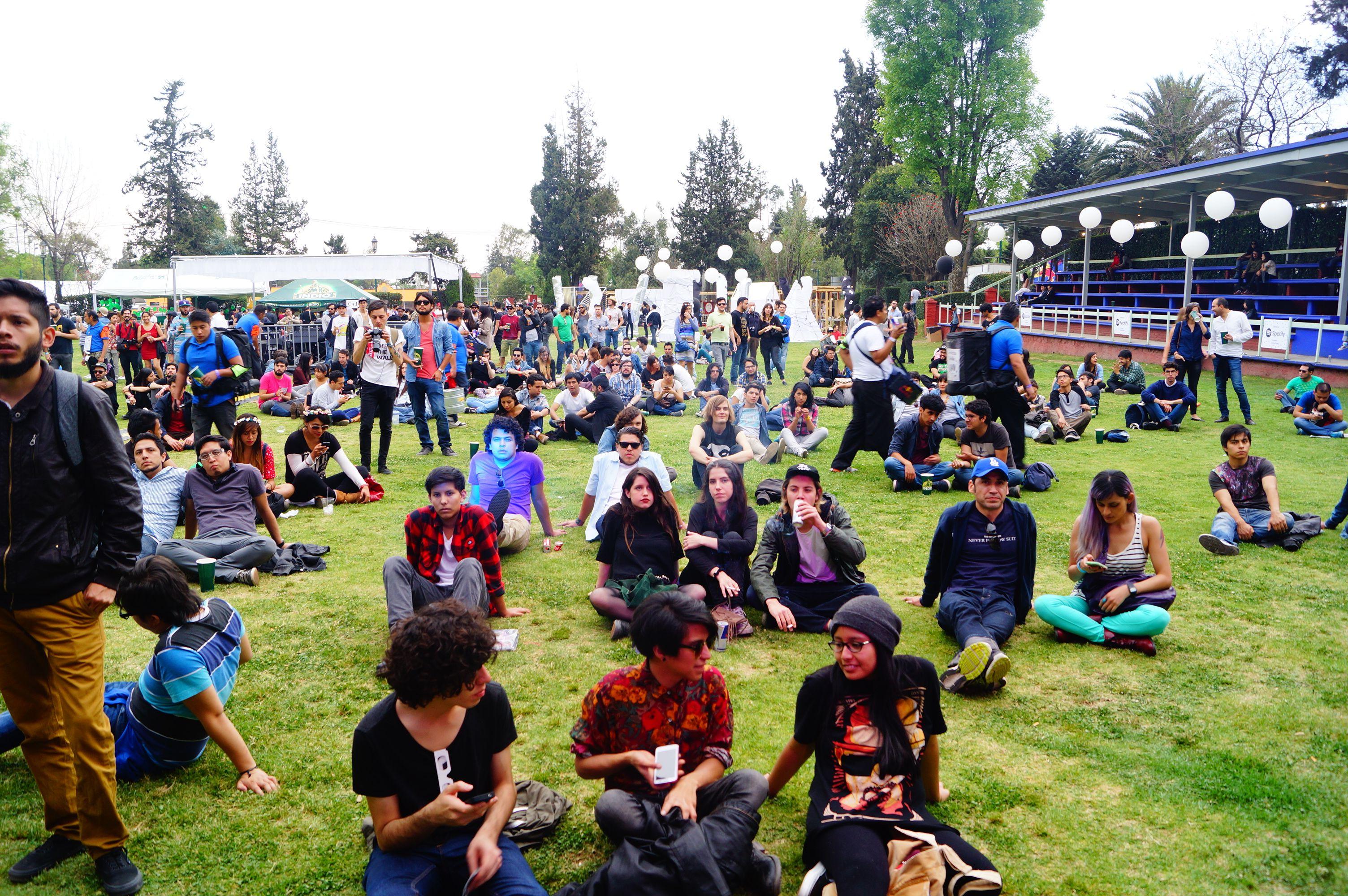 #ISenNrmal: Foto del #FestivalNrmal Por: Marcos Zarate Martinez
