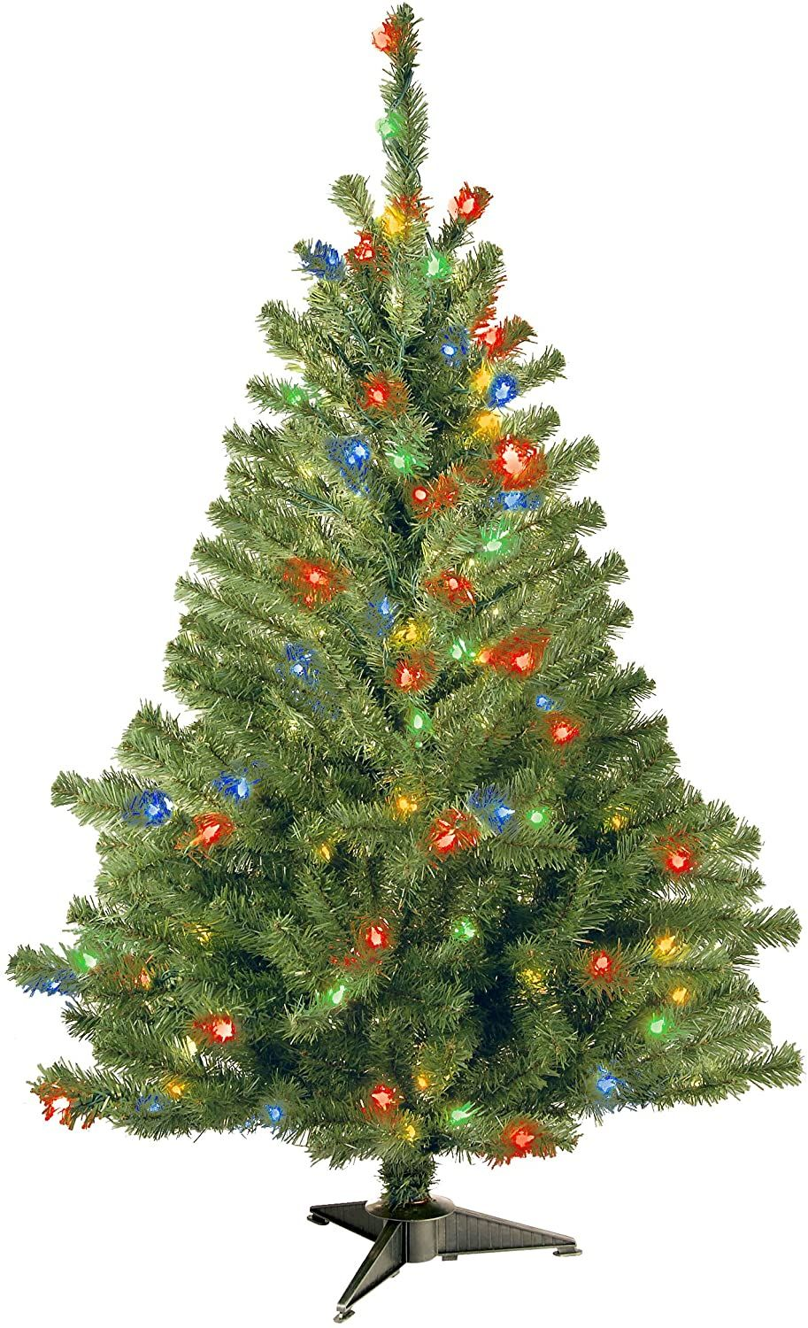 National Tree Company Pre Lit Artificial Christmas Tree In 2020 Artificial Christmas Tree Light Colors Artificial Branches