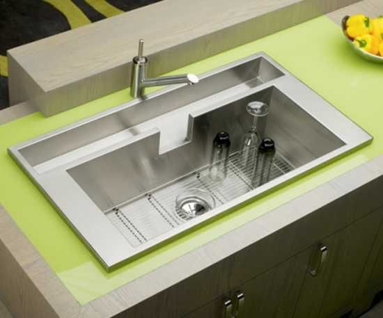 Modern Kitchen Sinks Adding Decorative Accents To Functional Design And Stainless Steel