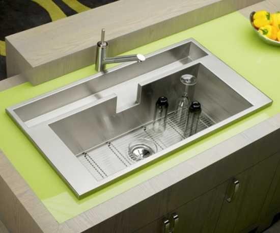 Modern Kitchen Sinks Adding Decorative Accents To Functional Design