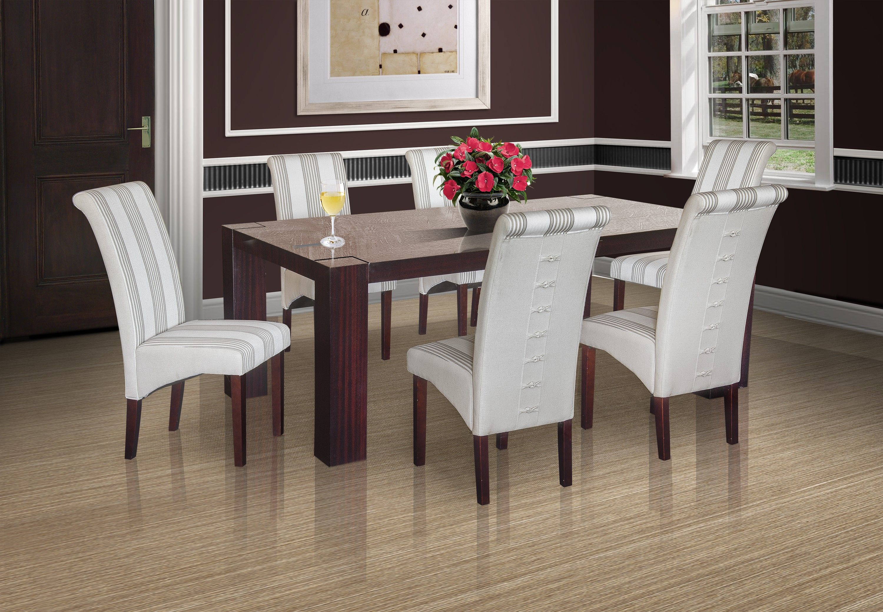 Imola Ritz 7 Pce Dining Room Suite B Dining Room Suites Furniture Affordable Furniture
