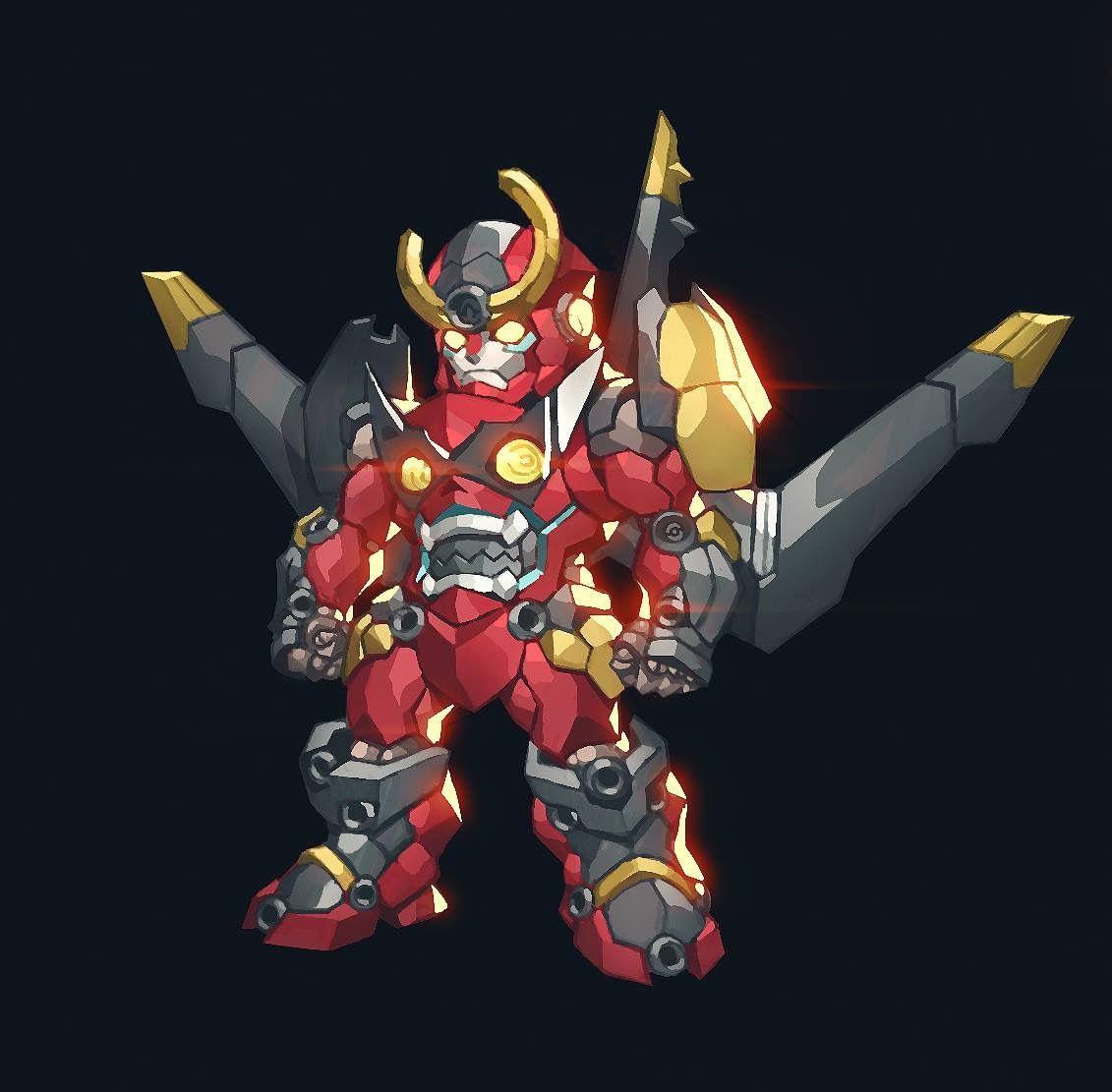 Gurren Lagann Gurren Lagann Mecha Anime Anime Chibi