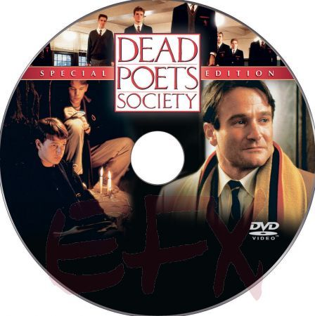 Dead Poets Society custom DVD label art by perricone u0027Na-No, Na - cd label