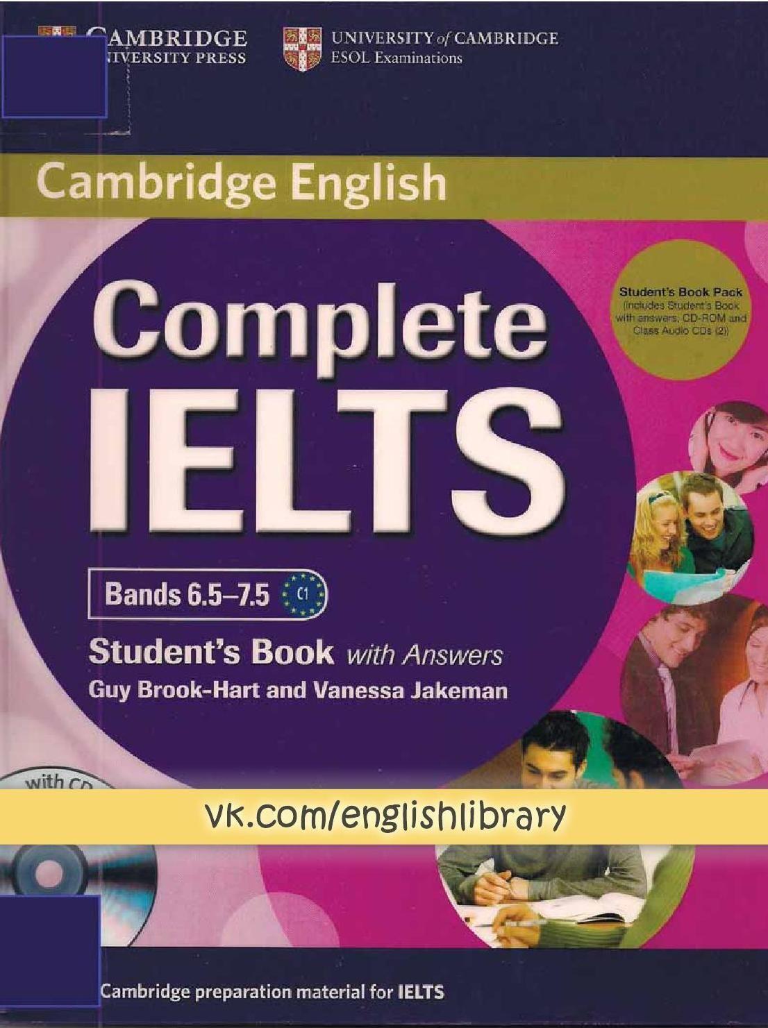 Complete ielts 75 sb | Language Tests : IELTS | Ielts