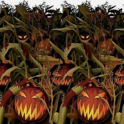Scary Pumpkin Patch Halloween Scene Setters Scene Setters Evil Pumpkin