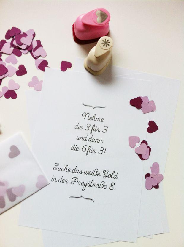 Diy Jga Eine Liebesbrief Schnitzeljagd Durch Hamburg Lieschen Heiratet Ideen Fur Die Hochzeit Hochzeitsgeschenk Hochzeitsstempel