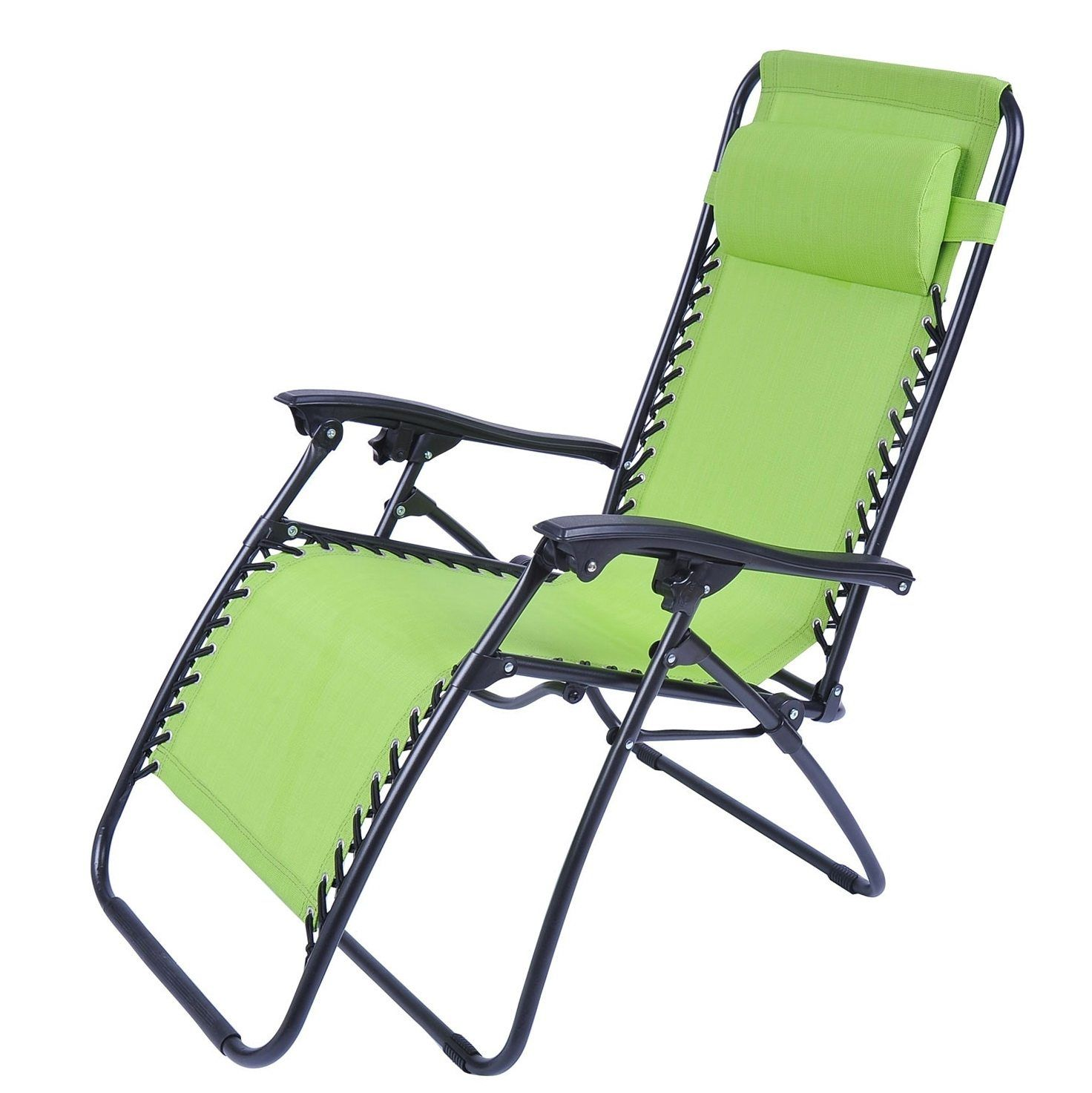 outdoor folding lounge chairs fabric dining room chair covers chaise patio pool beach lawn recliner