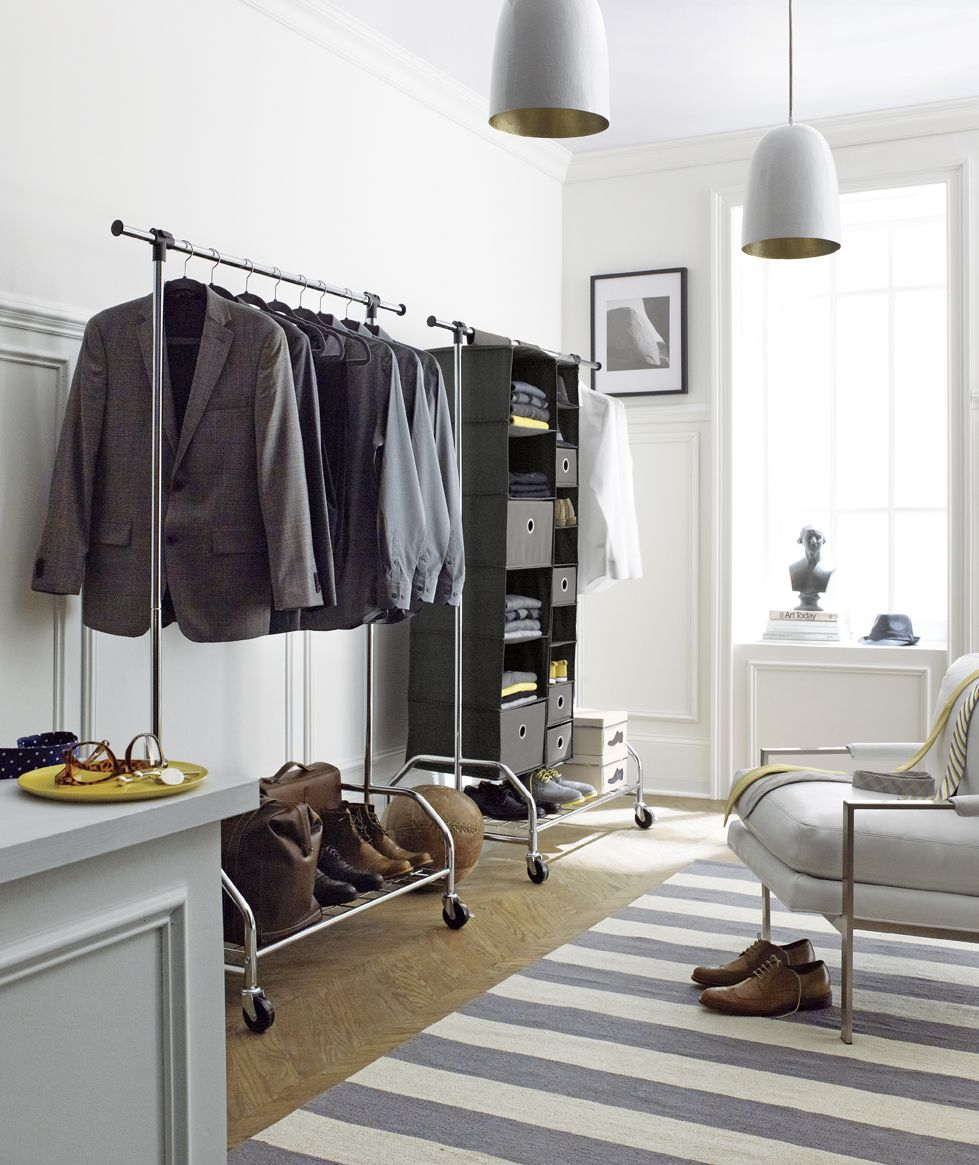 Shops Clothes racks and Garment racks on Pinterest. Clothes Rack Bedroom