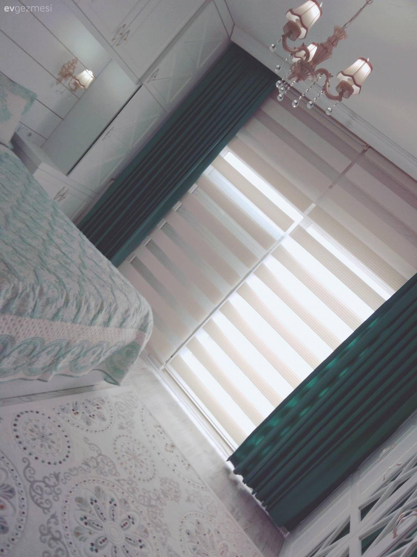 Kullanışlı olduğu kadar şık bir yatak odası tasarımı. Sibel hanımdan.. | Ev Gezmesi Yatak odası
