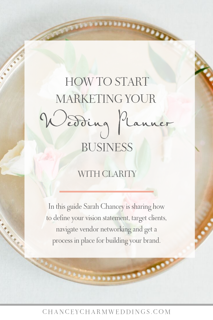 How To Start Marketing Your Wedding Planner Business With