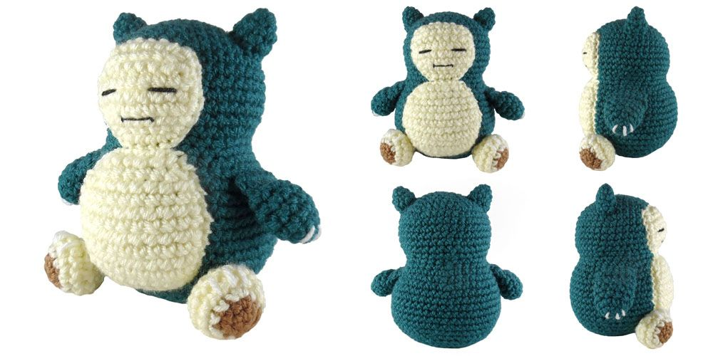 i crochet things: Pattern: Snorlax Amigurumi | Amigurumis ...