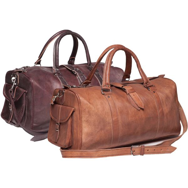 1620 166 49 Free Ship Over 50 Leather Duffle Bag Morocco