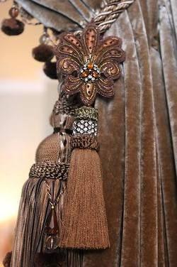 Pin de wiccana en borlas tassels accesorios para for Accesorios para cortinas