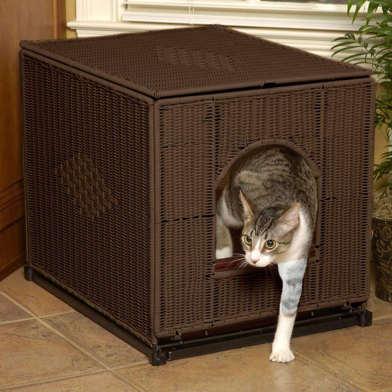 Decorative Litter Box Covers Decorative Litter Box Enclosure  Litter Box Pet Products And Box