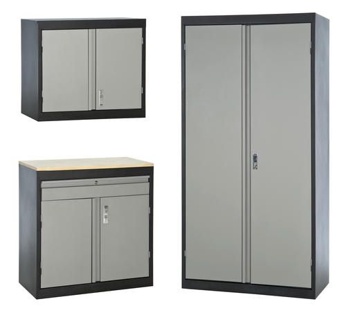 Sandusky 3 In 1 Storage Cabinet Set At Menards