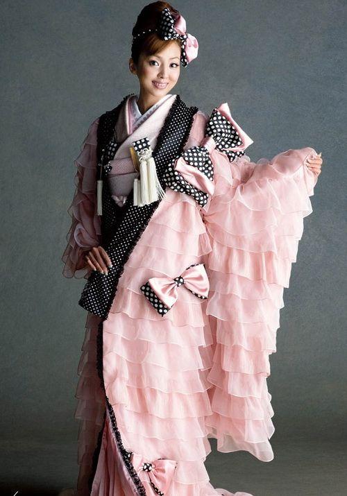 Japanese Fashion Kimono Wedding Dress
