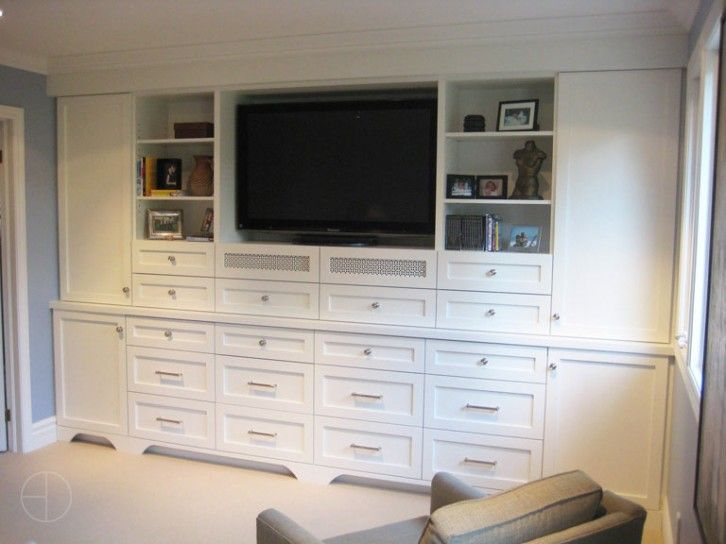Bedroom Wall Units With Drawers