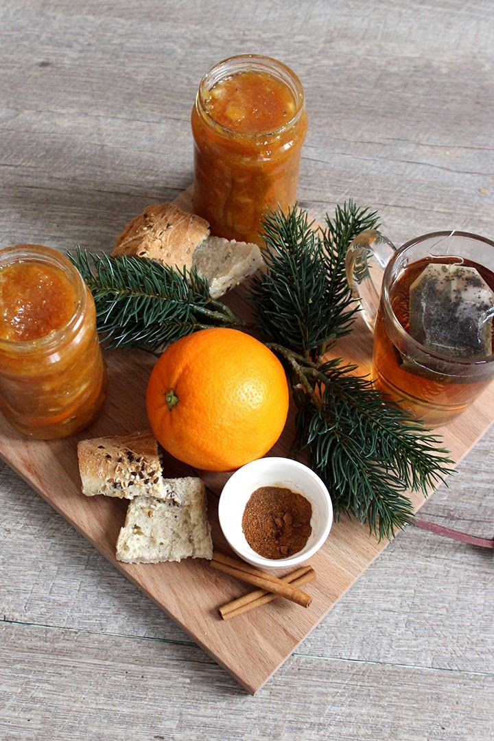 confiture d oranges aux pices noel desserts chutney et marmalade. Black Bedroom Furniture Sets. Home Design Ideas