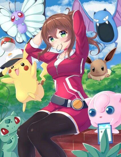 Girls pokemon hilda hentai Jiggly