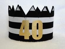 Happy 40th Birthday Decorations Bday Ideas Party Hats