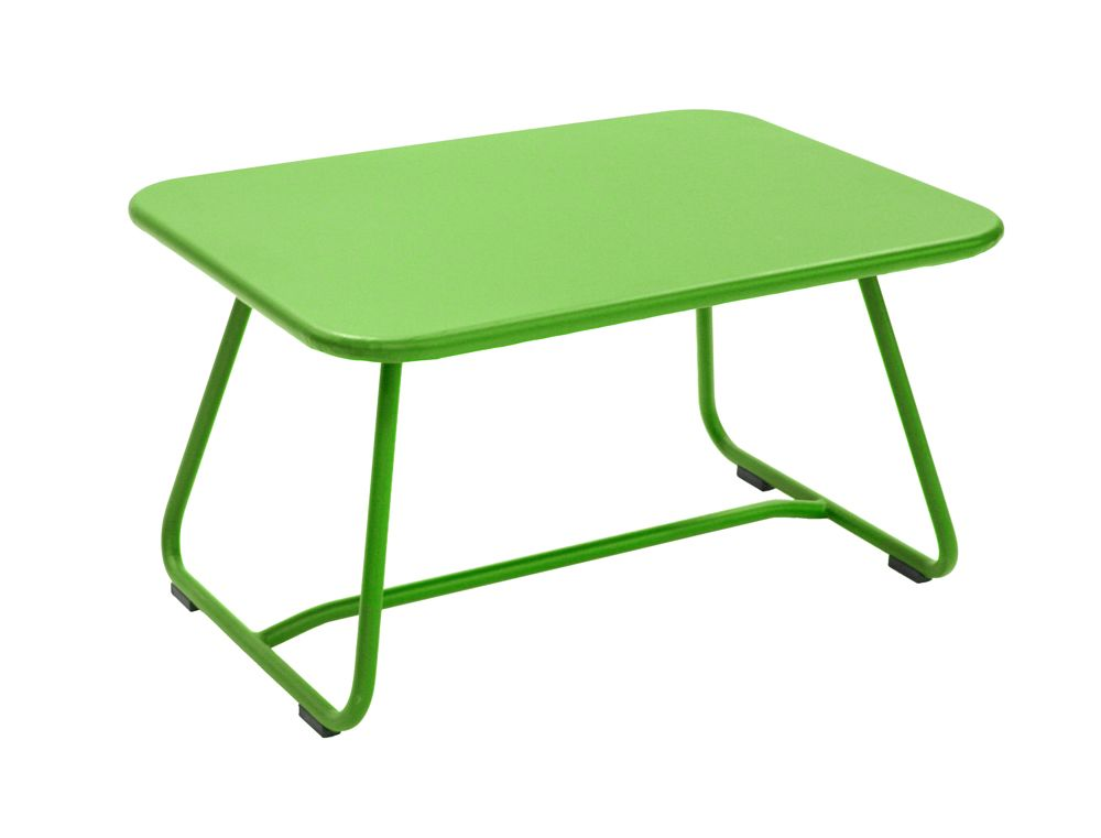 Table Sixties, table basse pour salon de jardin | Vert ...