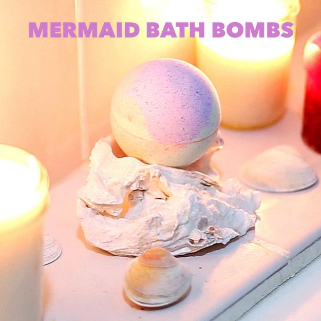Transform Bathtime With These DIY Mermaid Bath Bombs