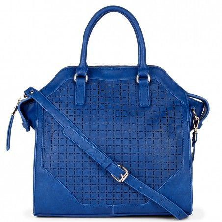 Blue satchel - love this color!