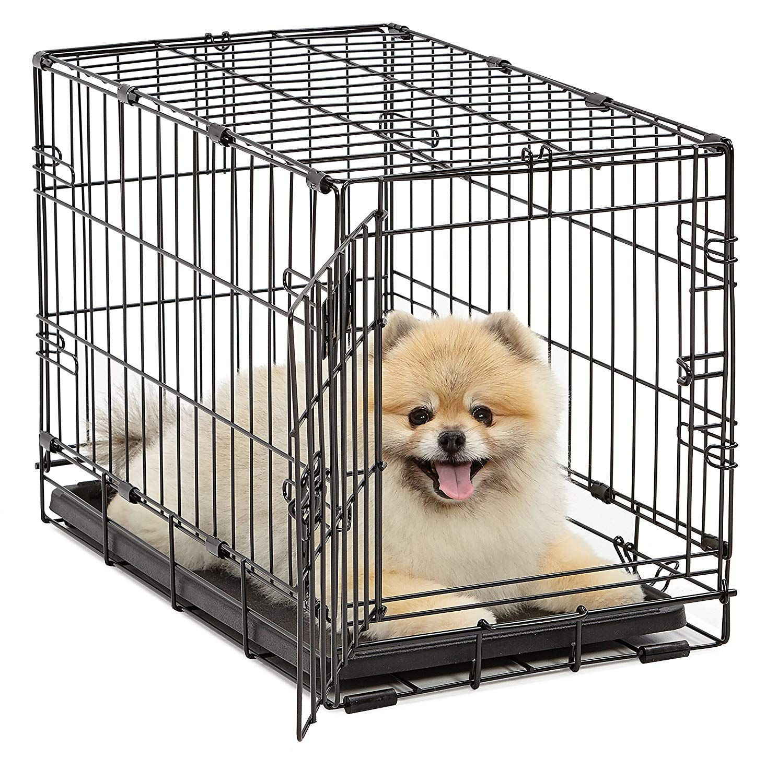 Midwest Homes For Pets Dog Crate Icrate Single Door Double Door Folding Metal Dog Crates Full Folding Dog Crate Dog Crate Sizes Dog Crate
