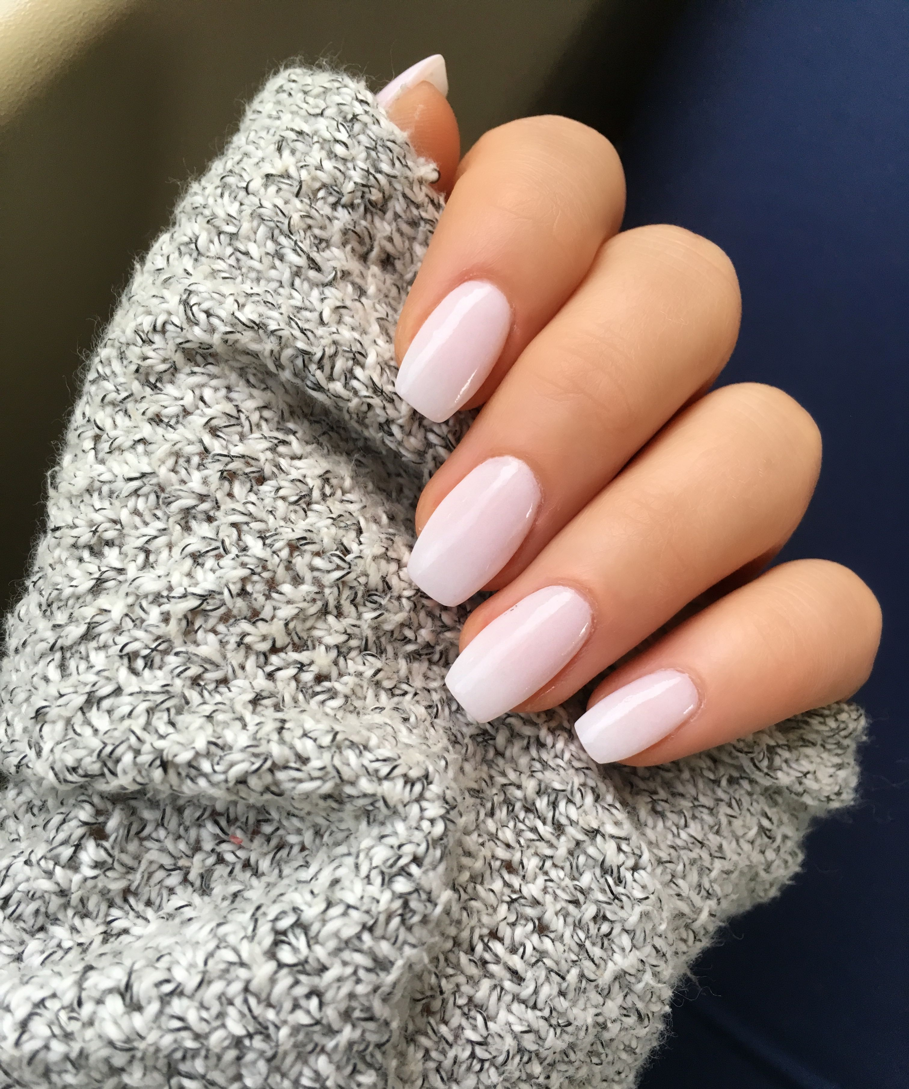 Loving This Opaque Pastel Pink So Subtle It Looks Like A Neutral Sns Nails Sc 24 Neutral Nails Natural Nail Designs Pastel Pink Nails