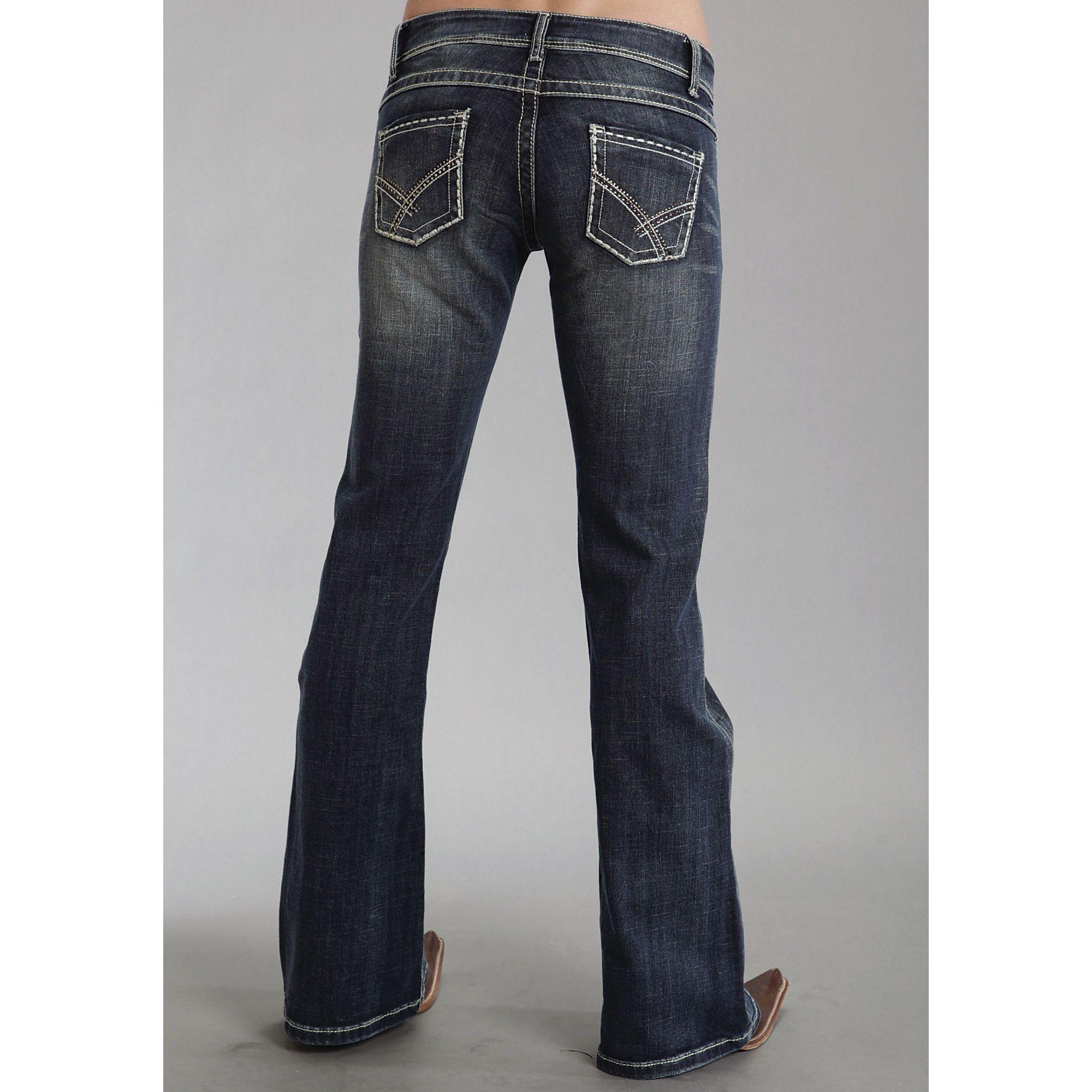 Womens Jeans Coupe De Démarrage Mélange cZadCtImtB