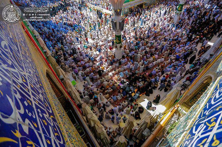 Eid-e-Ghadeer - Najaf Iraq  Shrine of Imam Ali (A.S)  (18 Zilhaj 1437 / 2016 - Najaf Iraq)  Shia Multimedia Team: http://ift.tt/1L35z55