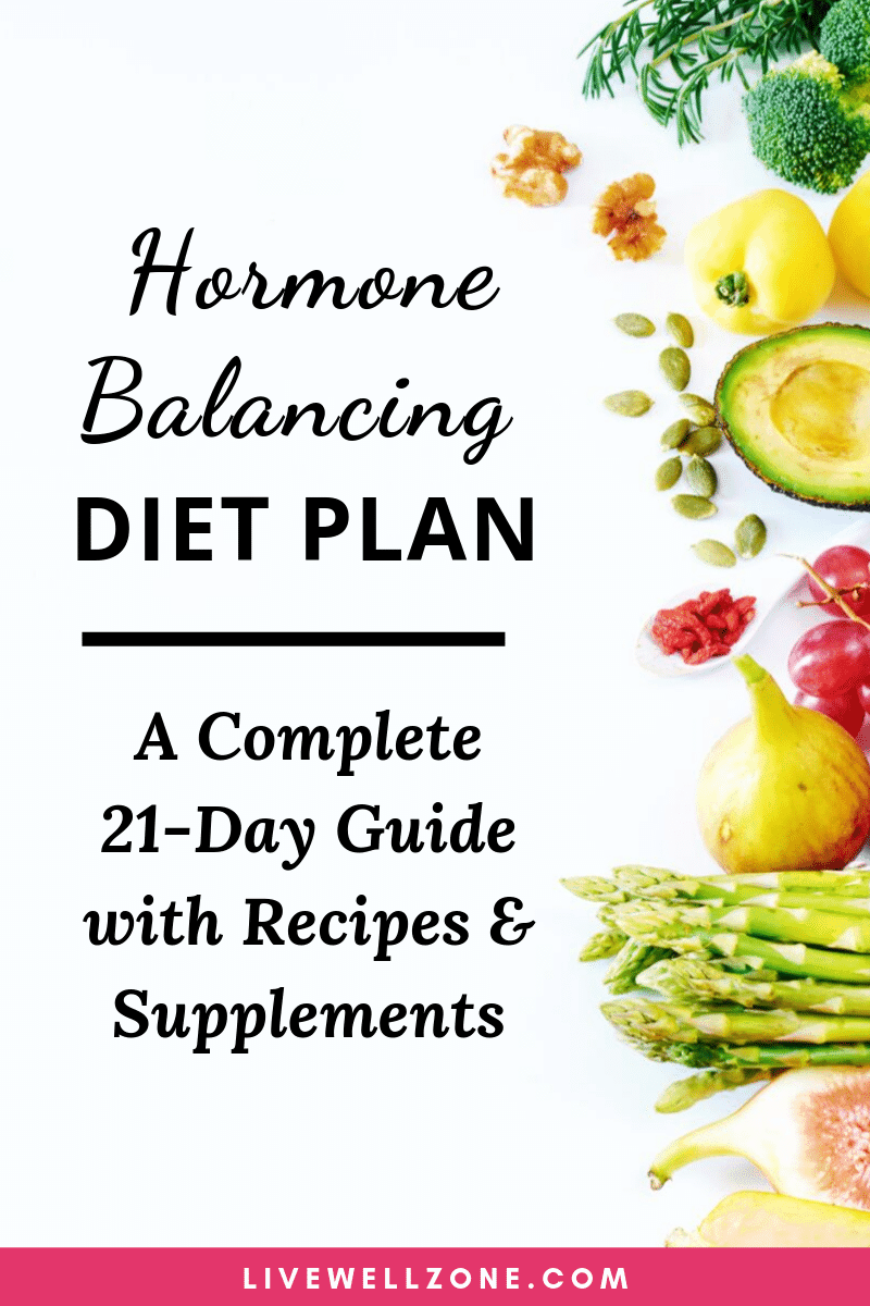 Hormone Balancing Diet Plan A Complete Guide Printable List Recipes Hormone Reset Diet Recipes Hormone Balancing Diet Hormone Diet
