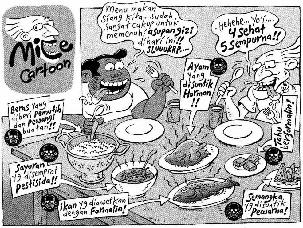 Tamtomovision Dengan Gambar Komik Lucu Kartun Momen Lucu