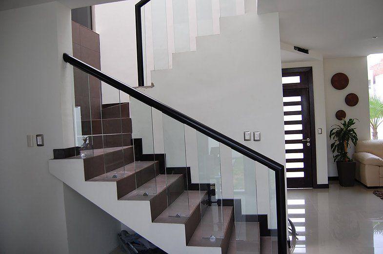 Barandales de aluminio buscar con google casa - Pasamanos de cristal ...