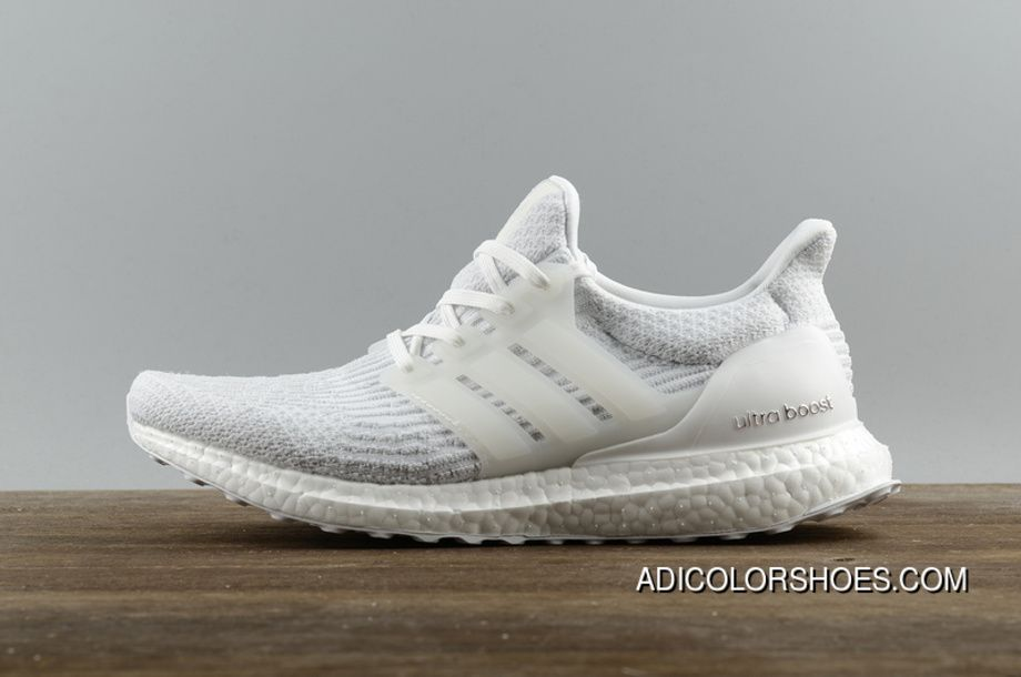 86215130c7f Free Shipping Authentic Adidas Ultra Boost 3.0 Real Boost All White ...