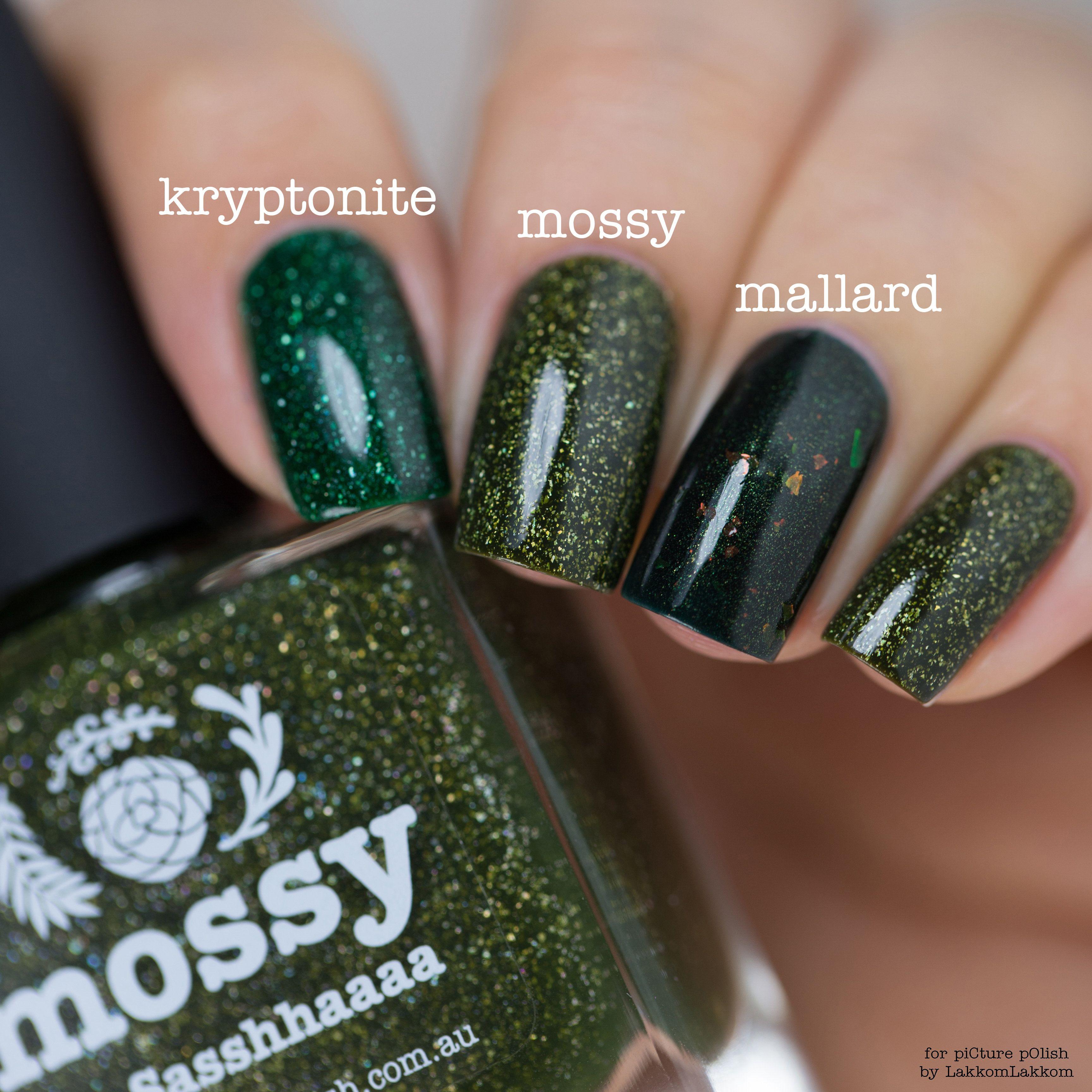 Kryptonite Mossy Mallard Nail Polish Nails Nail