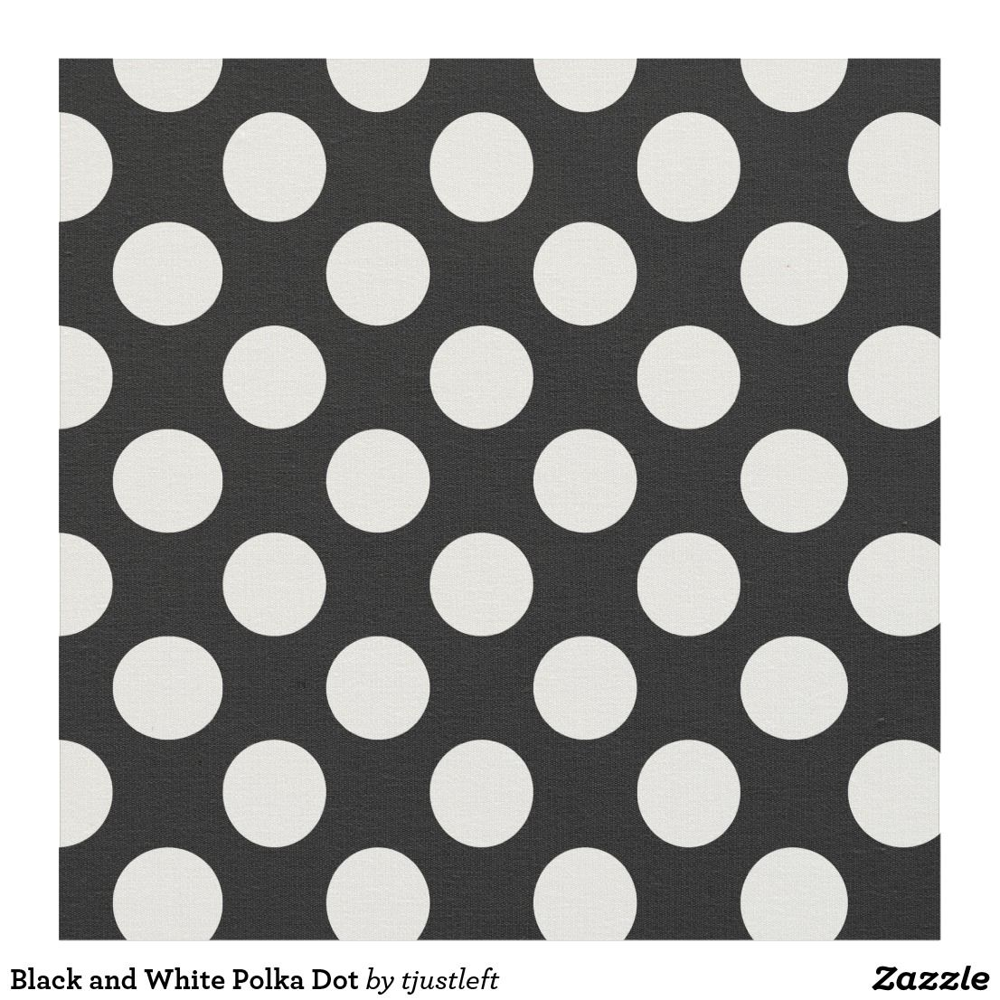 Black And White Polka Dot Fabric Polka Dot Fabric Dotted Fabric Polka Dots