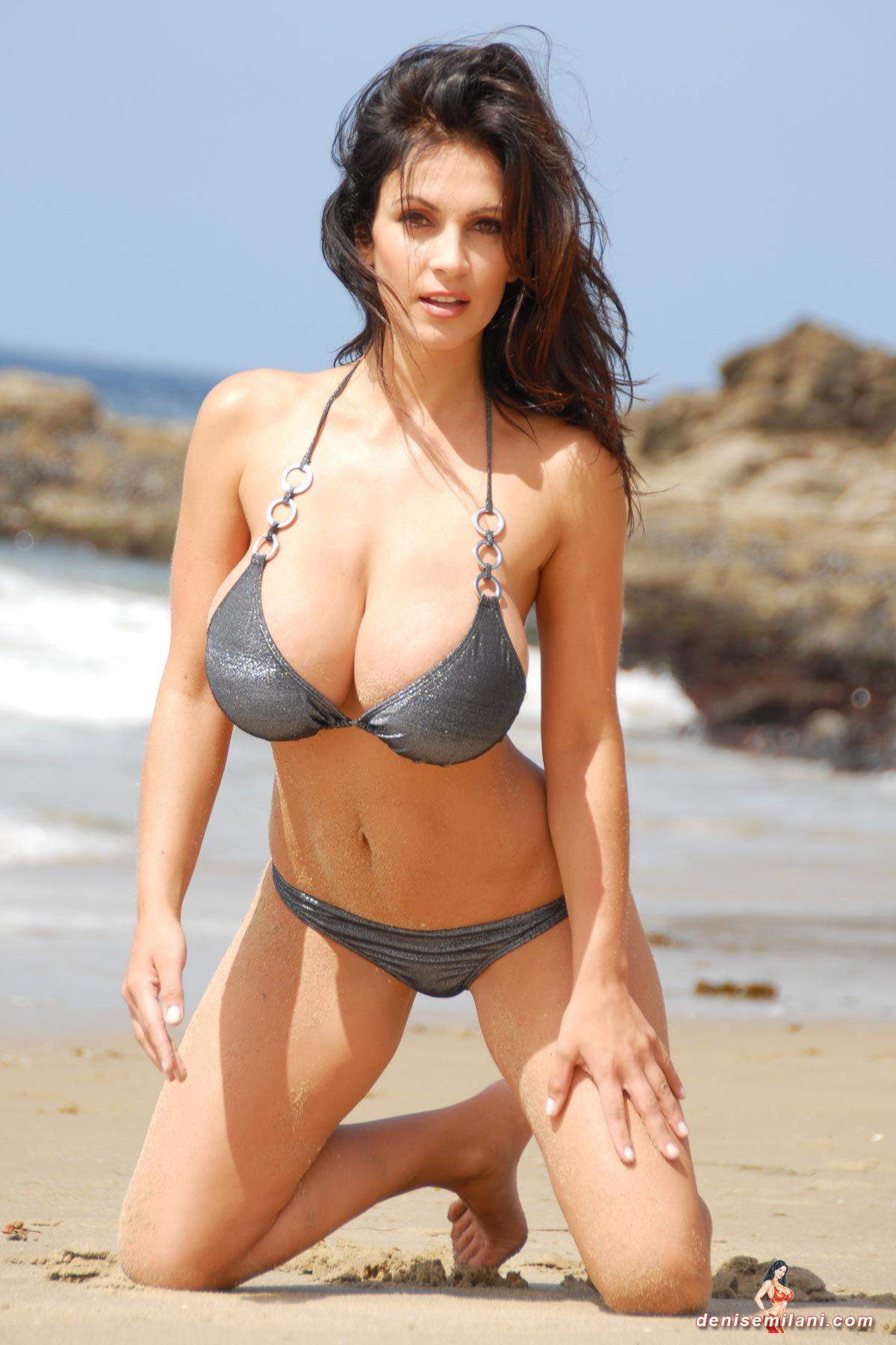 Denise Milani Bikini Gallery