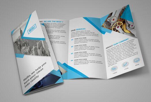 free tri fold brochure template download fam reunio pinterest