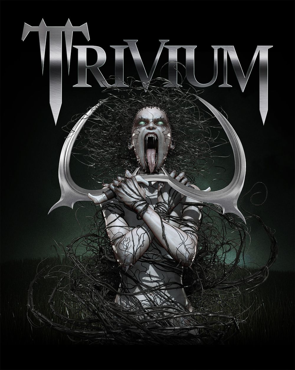 TriviumBriarWitch.jpg | Metal posters art, Rock band ...