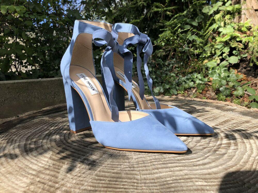 c1967876eb3 Steve Madden Pearl Nubuck Heels Size 9 #fashion #clothing #shoes ...