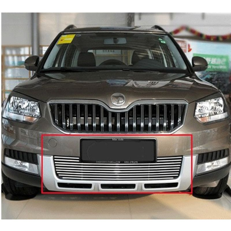 High Quality Stainless Steel Front Grille Around Trim Racing