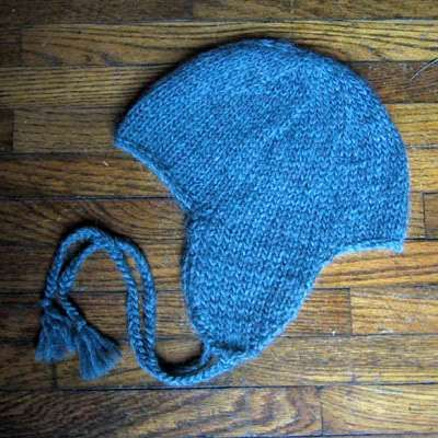 Basic Earflap Hat   Knitting, Baby hat knitting pattern ...