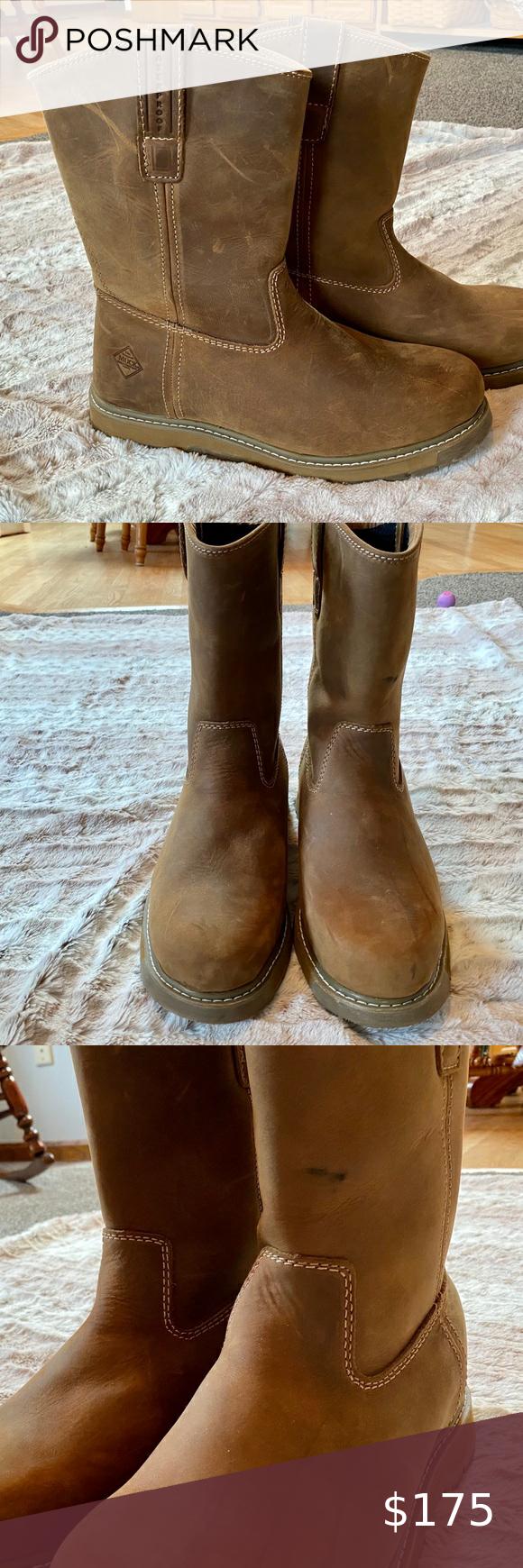 Snakeskin cowboy boots