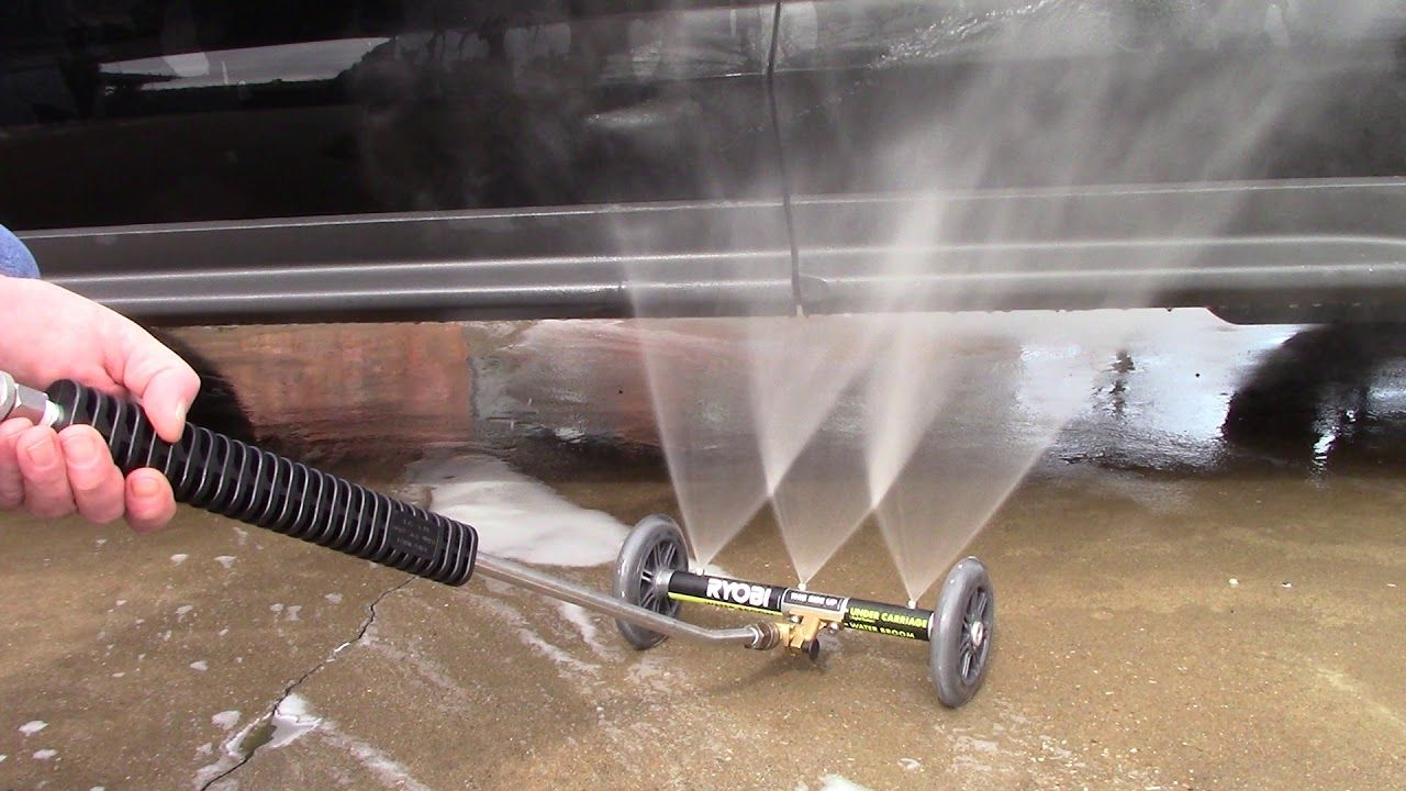Ryobi Undercarriage Cleaner It's a Winner! YouTube