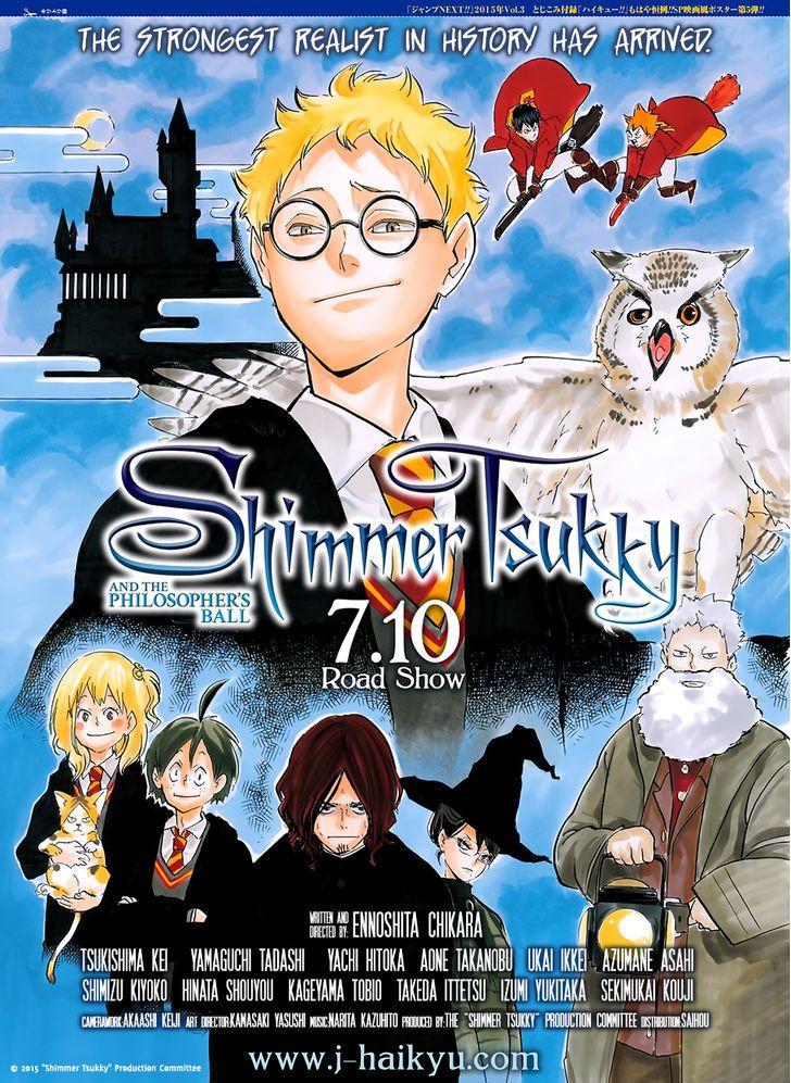 Haikyuu!! vol.19 ch.165 Animasi, Gambar manga, Manga